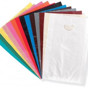 Plastic Merchandise Shopping Bags