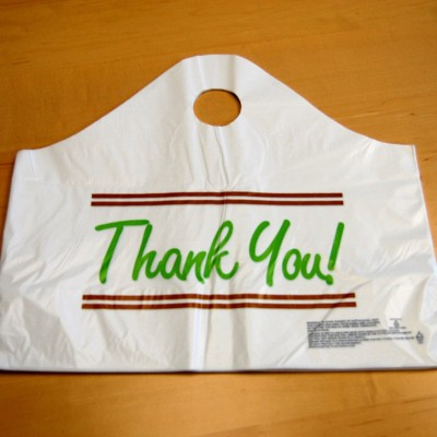 Restaurant Take-Out Bags, Food Safe Bottom Gusset